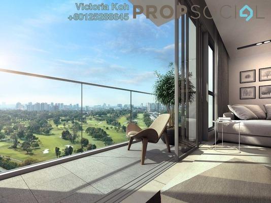 Serviced Residence For Sale in Panorama Residences, Kelana Jaya Freehold Semi Furnished 2R/1B 595k