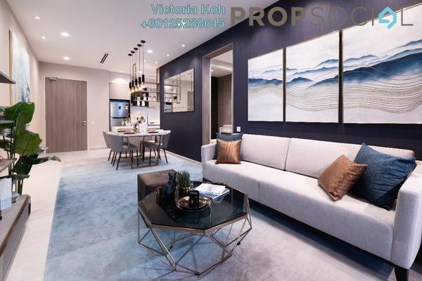 Serviced Residence For Sale in The Arcuz, Kelana Jaya Leasehold Semi Furnished 3R/2B 700k
