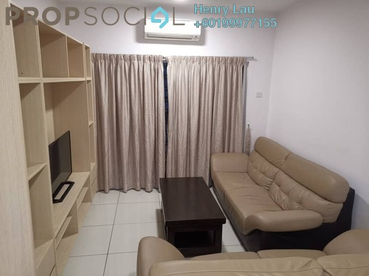 Condominium For Rent in Spring Avenue, Kuchai Lama Freehold Fully Furnished 3R/2B 1.8k