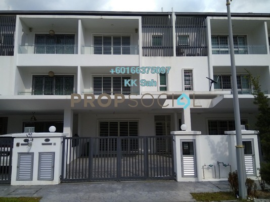 Superlink For Sale in Taman Taming Indah 2, Bandar Sungai Long Freehold Semi Furnished 6R/5B 1.1m
