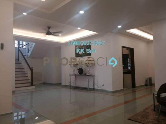 Bungalow For Rent in Section 26, Shah Alam Freehold Fully Furnished 7R/5B 4.5k