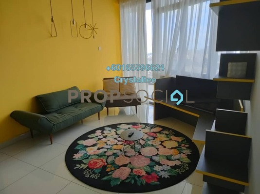 Condominium For Rent in Arte S, Bukit Gambier Freehold Fully Furnished 2R/2B 1.5k