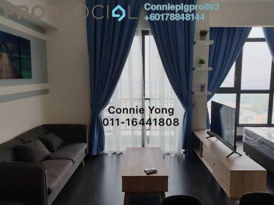 Condominium For Rent in 28 Boulevard, Pandan Perdana Freehold Semi Furnished 1R/1B 1.3k
