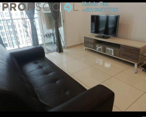 Condominium For Rent in Imperial Residences, Sungai Ara Freehold Fully Furnished 3R/2B 1.5k