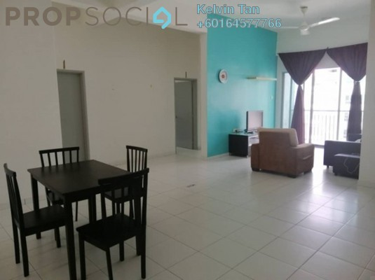 Condominium For Rent in The Golden Triangle, Relau Freehold Fully Furnished 3R/2B 1.3k