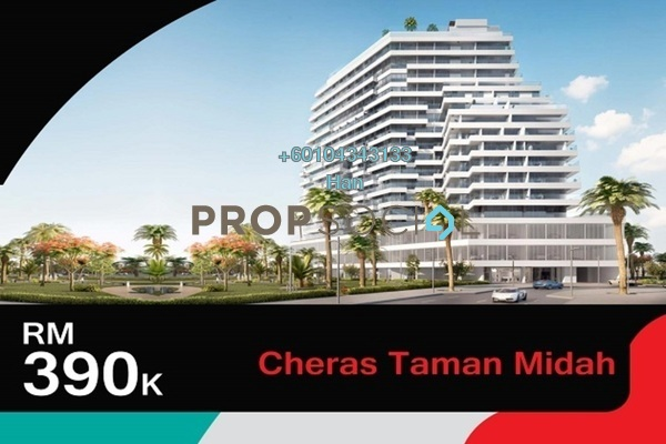 Duplex For Sale in Taman Midah, Cheras Leasehold Semi Furnished 3R/2B 390k