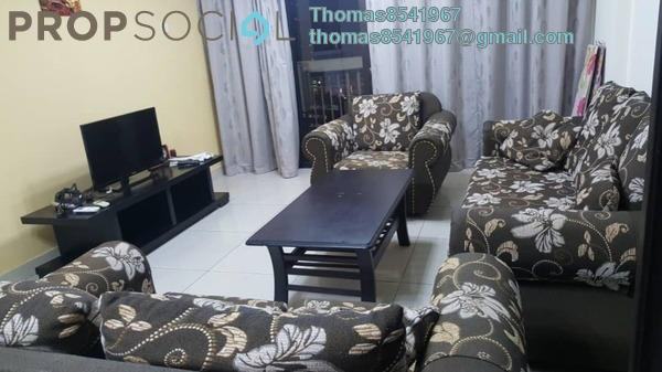 Condominium For Rent in Pelangi Damansara Sentral, Mutiara Damansara Freehold Fully Furnished 3R/2B 2k