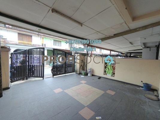 Terrace For Sale in Taman Koperasi Polis, Sentul Freehold Semi Furnished 3R/2B 415k