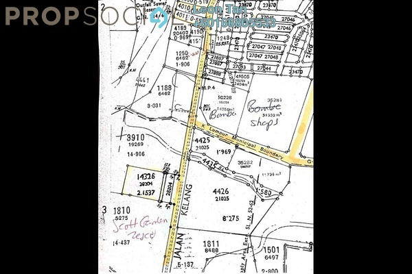 Land For Sale in The Scott Garden, Old Klang Road Freehold Unfurnished 0R/0B 56m