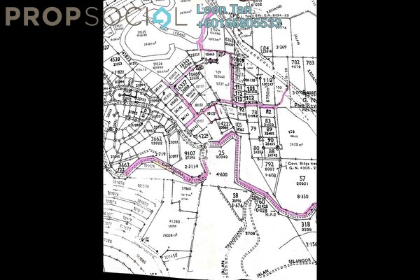 Land For Sale in Bukit Ledang, Damansara Heights Freehold Unfurnished 0R/0B 8.6m