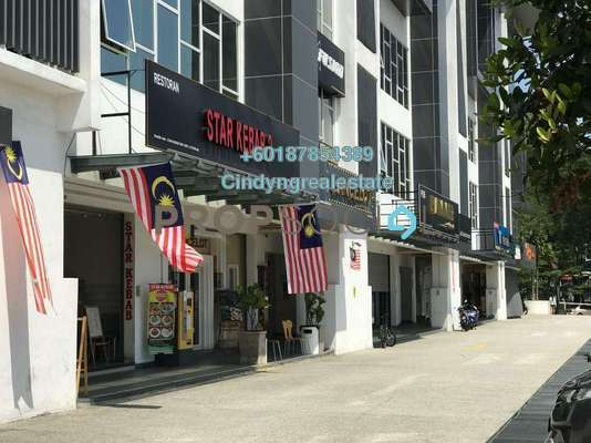 Shop For Rent in Nadayu28, Bandar Sunway Freehold Semi Furnished 0R/0B 12k