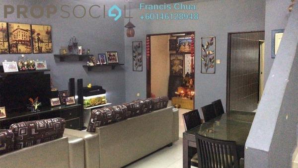 Terrace For Sale in Permas 11, Bandar Baru Permas Jaya Freehold Semi Furnished 4R/3B 550k