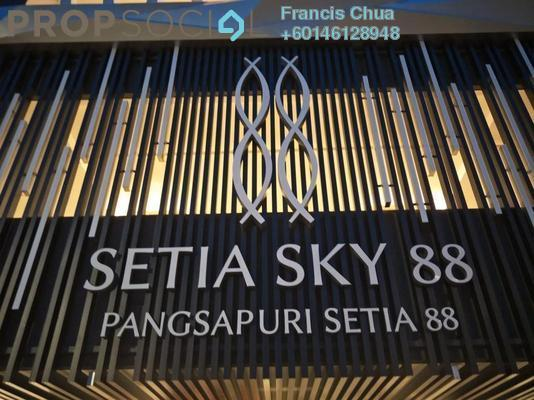 Condominium For Rent in Setia Sky 88, Johor Bahru Freehold Fully Furnished 1R/2B 2.2k