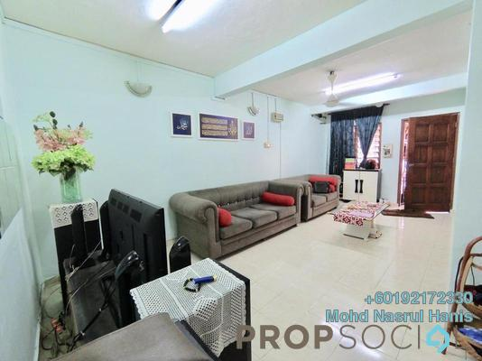 Terrace For Sale in Taman Koperasi Polis, Sentul Freehold Unfurnished 3R/2B 390k