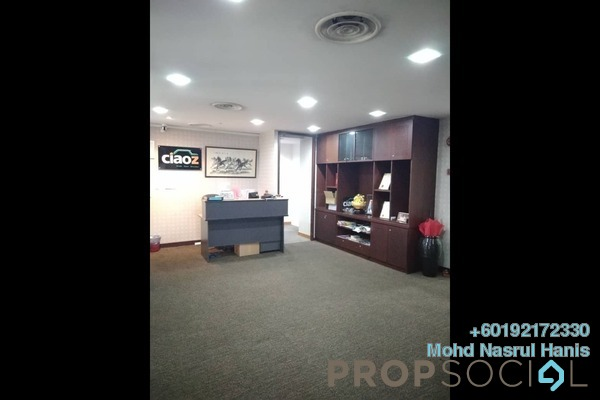 Office For Sale in Plaza Dwitasik, Bandar Sri Permaisuri Leasehold Semi Furnished 0R/0B 1.3m