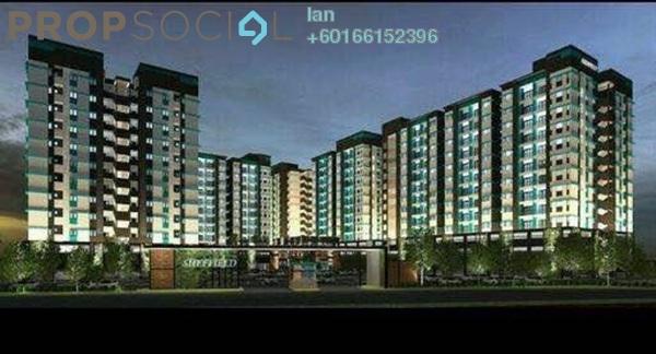 Condominium For Sale in Reko Sentral, Kajang Freehold Unfurnished 3R/2B 310k