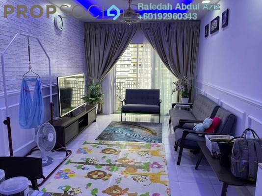 Apartment For Rent in PR1MA Homes @ Residensi Alam Damai, Alam Damai Freehold Fully Furnished 3R/2B 2k