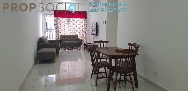 Condominium For Rent in BSP 21, Bandar Saujana Putra Freehold Fully Furnished 3R/2B 1.6k