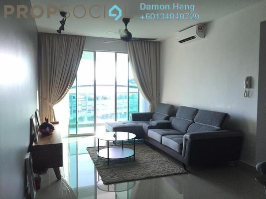 Condominium For Sale in Kiara Residence 2, Bukit Jalil Freehold Semi Furnished 3R/2B 670k