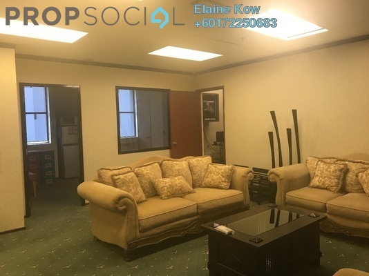 Office For Sale in Plaza Mont Kiara, Mont Kiara Freehold Semi Furnished 0R/0B 1.28m