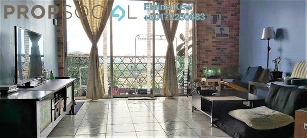 Condominium For Sale in Impian Heights, Bandar Puchong Jaya Freehold Semi Furnished 3R/2B 360k