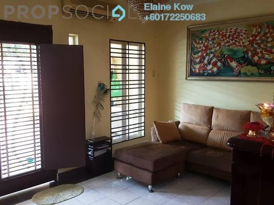 Terrace For Sale in SD12, Bandar Sri Damansara Freehold Semi Furnished 4R/2B 970k