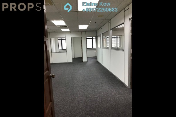 Office For Rent in Wisma UOA II, KLCC Freehold Semi Furnished 0R/0B 3.5k