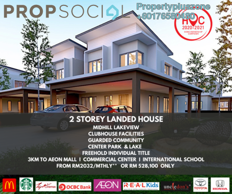 Terrace For Sale in Anggun 2, Rawang Freehold Unfurnished 4R/3B 588k