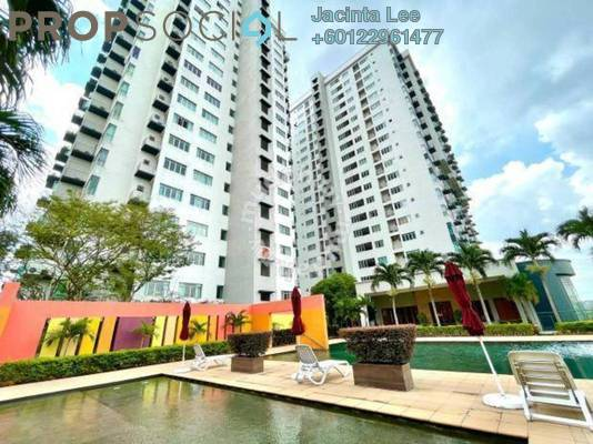 Serviced Residence For Sale in Millennium Square, Petaling Jaya Freehold Semi Furnished 2R/2B 405k