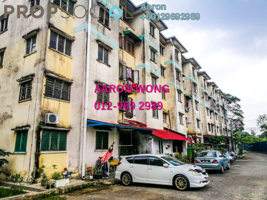 Apartment For Sale in Pangsapuri BBK, Kundang Freehold Semi Furnished 3R/2B 135k