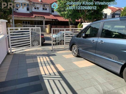 Terrace For Sale in Taman Sutera, Kajang Freehold Semi Furnished 4R/3B 599k