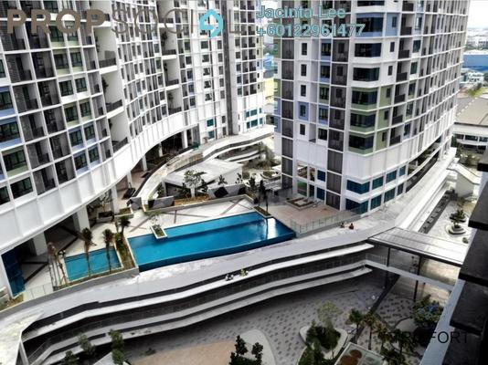 Serviced Residence For Sale in i-City, Shah Alam Freehold Semi Furnished 2R/1B 256k