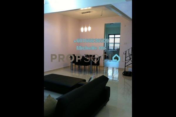 Terrace For Rent in Perjiranan 11, Bandar Dato' Onn Freehold Semi Furnished 4R/4B 1.8k