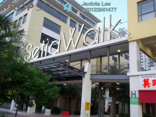 Serviced Residence For Sale in Setia Walk, Pusat Bandar Puchong Freehold Semi Furnished 2R/1B 328k