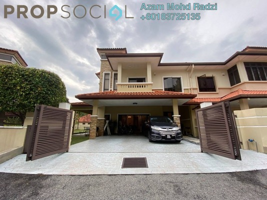 Semi-Detached For Sale in Tropika Kemensah, Kemensah Freehold Semi Furnished 5R/4B 2.45m