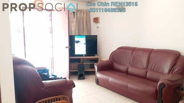 Terrace For Sale in Pandan Jaya, Pandan Indah Freehold Semi Furnished 4R/2B 760k