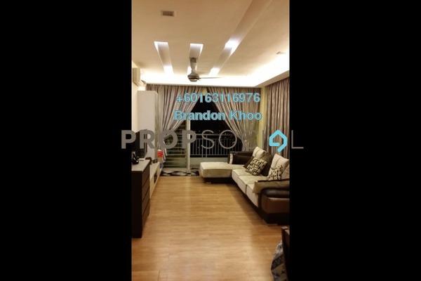 Condominium For Sale in Prima Setapak II, Setapak Freehold Semi Furnished 4R/3B 680k