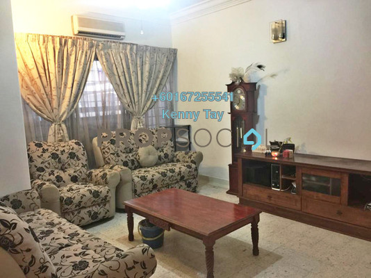 Terrace For Sale in Taman Daya, Kepong Freehold Fully Furnished 4R/3B 660k