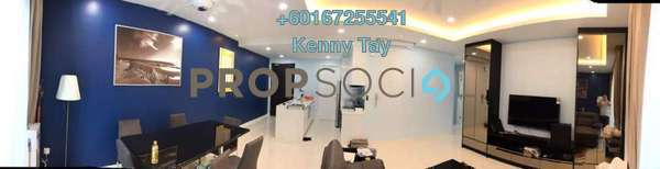 Condominium For Sale in EcoSky, Kuala Lumpur Freehold Fully Furnished 3R/2B 888k