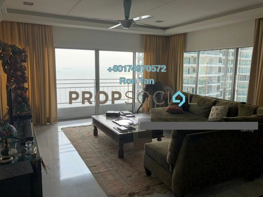 Condominium For Sale in 1 Persiaran Gurney, Gurney Drive Freehold Fully Furnished 3R/2B 1.6m