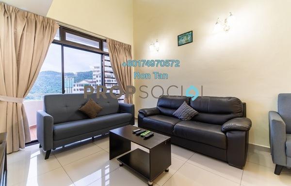 Condominium For Rent in Eden Seaview, Batu Ferringhi Freehold Fully Furnished 4R/3B 2.8k