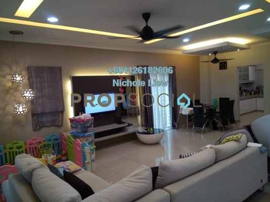 Superlink For Sale in Taman Sri Putra Mas, Sungai Buloh Freehold Fully Furnished 4R/3B 779k