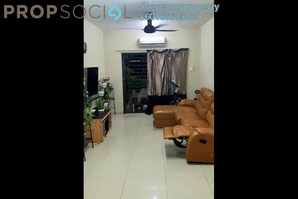 Condominium For Sale in Kinrara Mas, Bukit Jalil Freehold Semi Furnished 3R/2B 380k