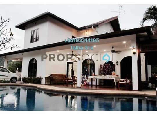 Bungalow For Sale in Taman Zooview, Ukay Freehold Fully Furnished 5R/4B 3.6m