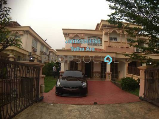 Semi-Detached For Sale in D'Kayangan, Shah Alam Freehold Semi Furnished 5R/4B 1.18m