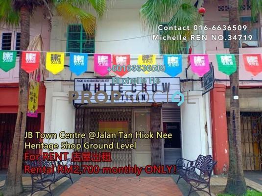Shop For Rent in Johor Bahru City Centre, Johor Bahru Freehold Semi Furnished 0R/1B 2.7k