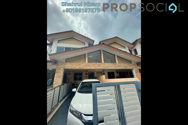 Townhouse For Sale in Amansiara, Selayang Freehold Fully Furnished 3R/2B 465k