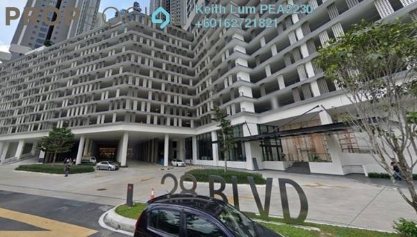 Condominium For Rent in 28 Boulevard, Pandan Perdana Freehold Semi Furnished 2R/2B 2.1k
