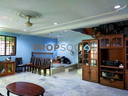 Terrace For Sale in Taman Kok Lian, Jalan Ipoh Freehold Semi Furnished 4R/3B 850k