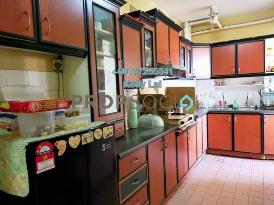 Condominium For Sale in Sri Intan 1, Jalan Ipoh Freehold Semi Furnished 3R/2B 315k